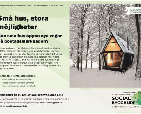 Kan små hus öppna nya vägar på bostadsmarknaden?