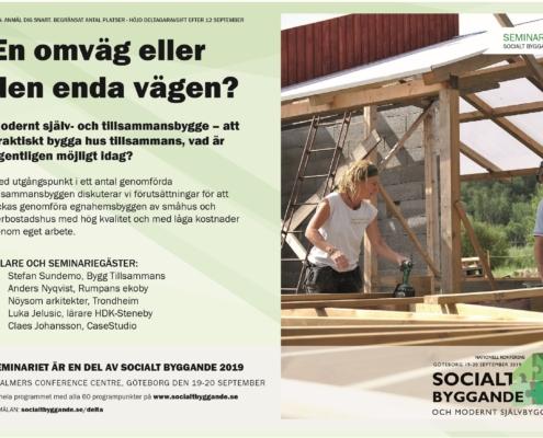 Modernt själv- och tillsammansbygge – att praktiskt bygga hus tillsammans, vad är egentligen möjligt idag?