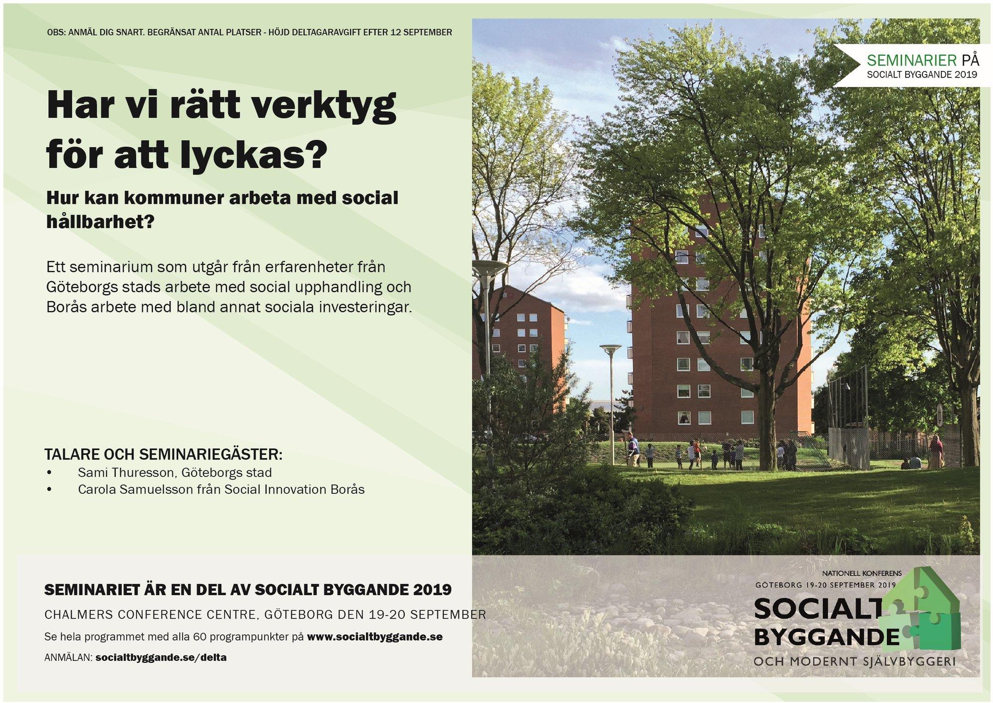 Hur kan kommuner arbeta med social hållbarhet?